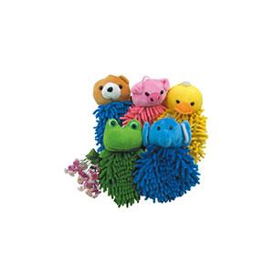 U803-大頭動物擦手毛巾球